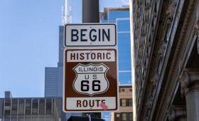 Début route 66
