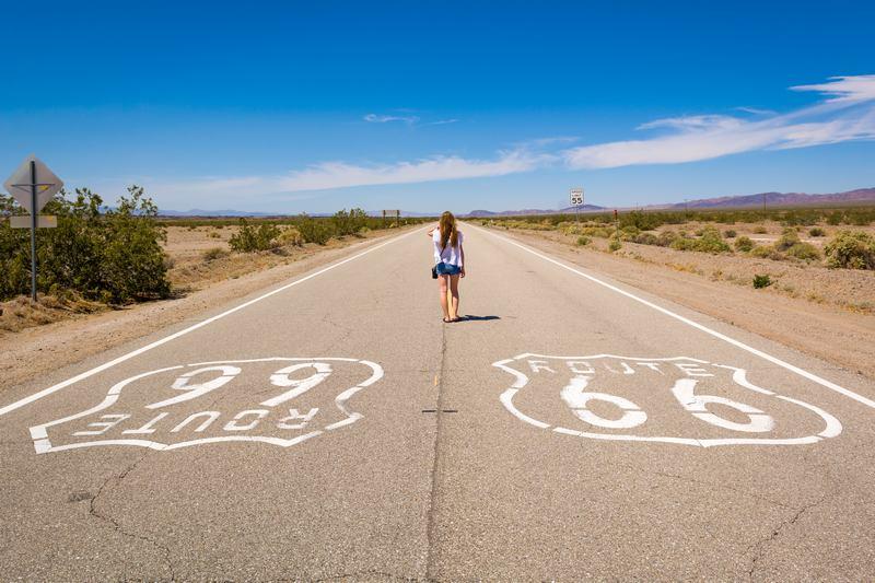 Route 66 en été